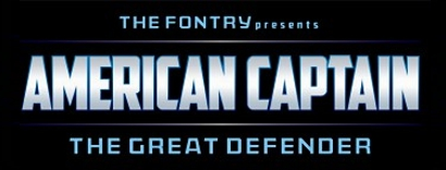 AMERICAN CAPTAIN font 